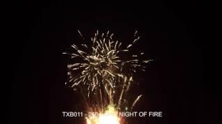Fajerwerki TXB011 ONE NIGHT OF FIRE  260s. Triplex