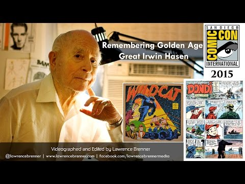Remembering Golden Age Great Irwin Hasen at SDCC 2015