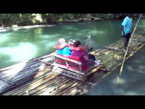 Martha  Brae Rafting
