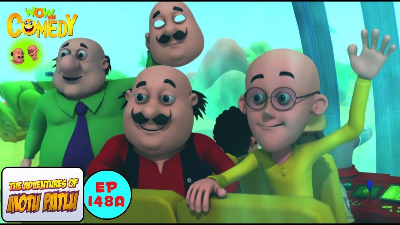 the villain mask motu patlu in hindi 3d animated cartoon series