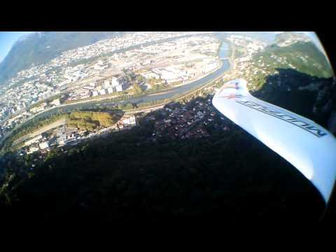 Vol Au Dessus De La Bastille Grenoble Easystar2