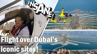 Helicopter ride on Palm Jumeirah in Dubai