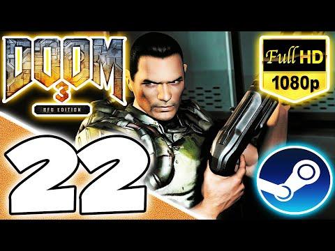 Doom 3: BFG Edition (Nightmare, All PDAs, Lockers, & Video Discs) Part 22 - Central Servers Bank  