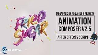 [MegaPack] Plugins & Presets  Animation Composer After Effects 2018