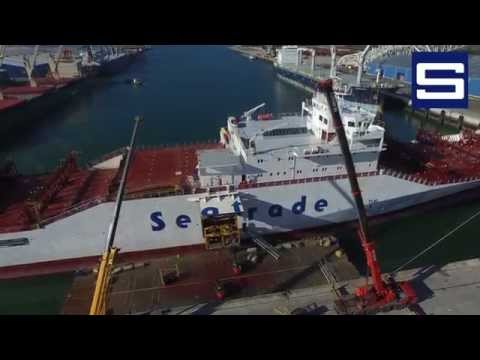 Loading the Messina Strait for Vertraco Shipping at Supermartime