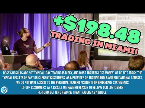 +$198.48 💰💵 Trading LIVE In Miami!! - Day 6 Of The Small Account Challenge