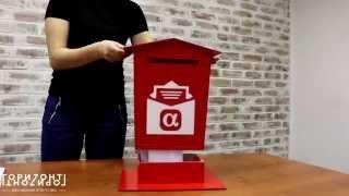 Настольный ящик для писем. Ящик для писем Деду Морозу. Как заказать? Где купить?(Настольный ящик для писем. Ящик для писем Деду Морозу. Как заказать? Где купить? РА
