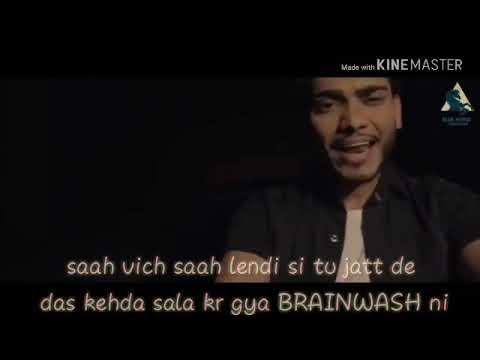 BRAINWASH - New Punjabi Song 2018 - Brainwash(Whatsapp Status) - Sunny Sandhu