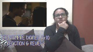 "The Vampire Diaries 2x10 REACTION & REVIEW ""The Sacrifice"" S02E10 | JuliDG"