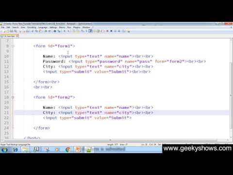 152. Form Attribute In HTML (Hindi)