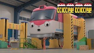 띠띠뽀 탐구생활 장소특집 l 2화 기차제작소 l 기차제작소에는 테오형이 있나요? l 띠띠뽀 띠띠뽀