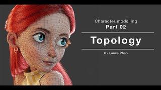 Blender 2.8 - Character modelling 02 - Retopology