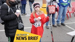 Kids galore at Hometown Hockey