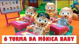 6 TURMA DA MÔNICA BABY #TiaCris #TurmadaMonica #TurmadaMonica
