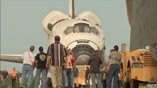 Space Shuttle Endeavour is Moving to California | NASA KSC Spacecraft Science Center