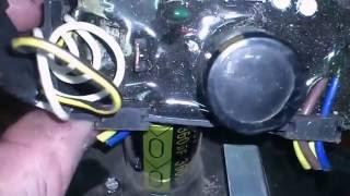 Регулировка напряжения бензинового генератора. Adjusting the voltage of the generator
