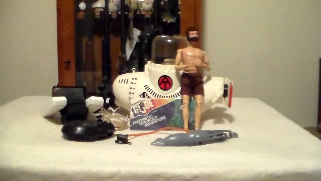 Gi Joe Adventure Team Sea Wolf Submarine 1970 S Youtube