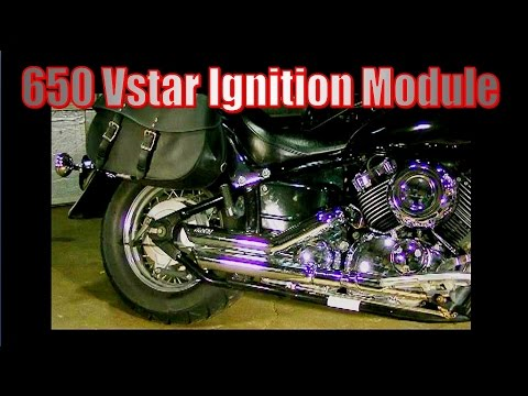 650 V Star Ignition module location and removal - YouTube V Star Wiring Diagram on