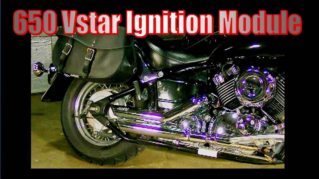 650 v star ignition module location and removal