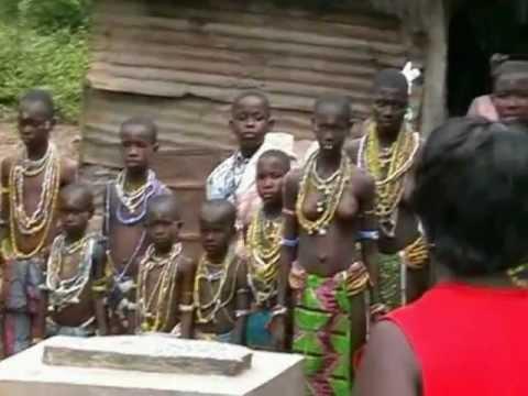 Африканская интимный ритуалы видео разделяю
