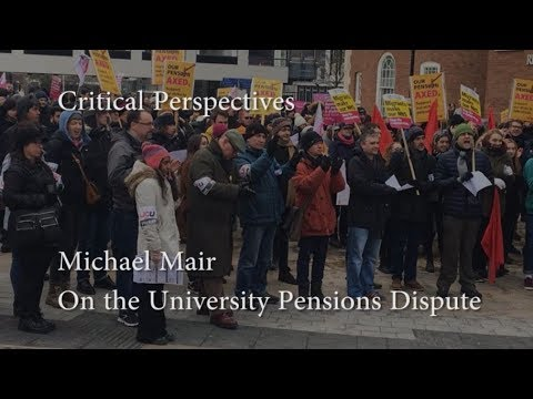 Critical Perspectives: Michael Mair