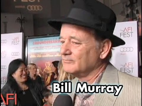 Bill Murray on the FANTASTIC MR. FOX red carpet at AFI FEST 2009 presented by Audi
