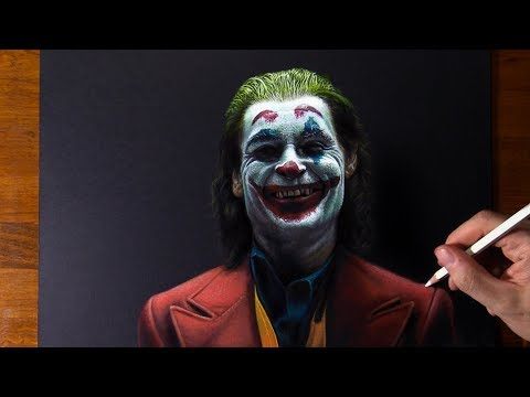Drawing Joaquin Phoenix As Joker 🤡