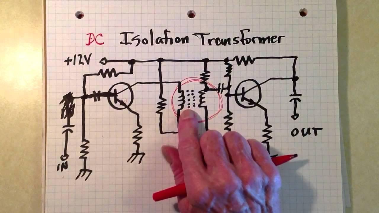 Audio Isolation Transformer 1 Youtube Diagram
