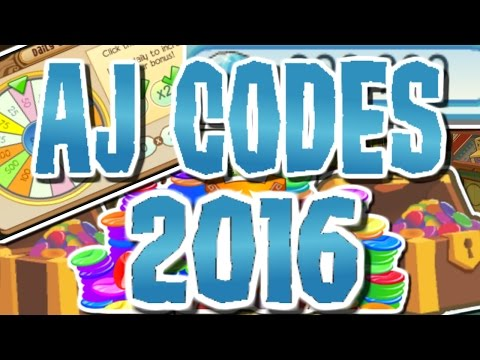 ANIMAL JAM CODES 2016/2015 + DAILY SPIN TRICK!