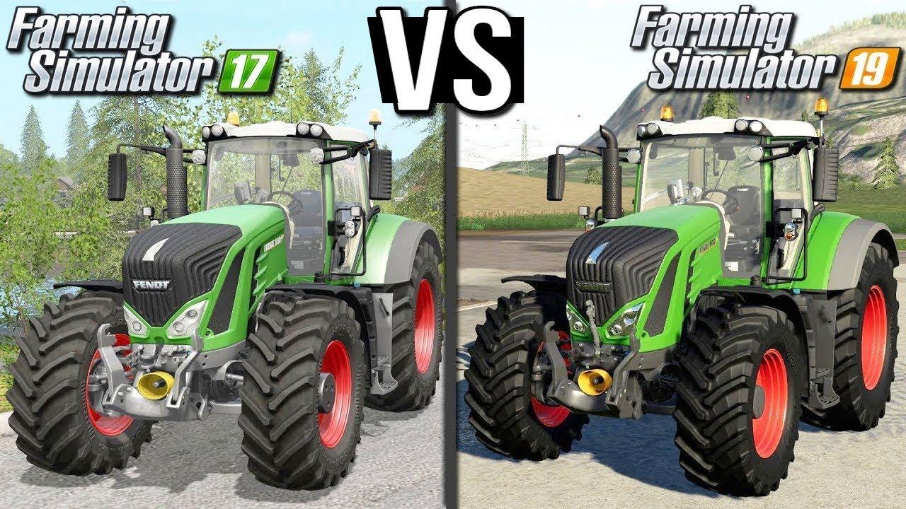 FS 17 vs FS 19 | Porównanie graficzne
