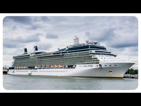 Kreuzfahrtschiff Celebrity Eclipse & Silver Cloud 24.06.2014 Warnemünde - cruise ship