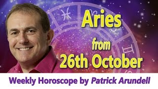 Aries Weekly Horoscope from 26th October 2015