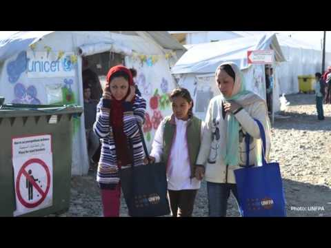 The provision of sexual and reproductive services to refugees in Macedonia