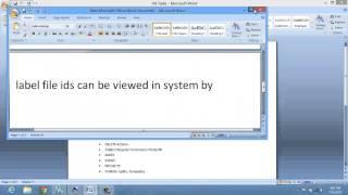 إنشاء التسمية تسمية معرفات في ax 2012 فيديو