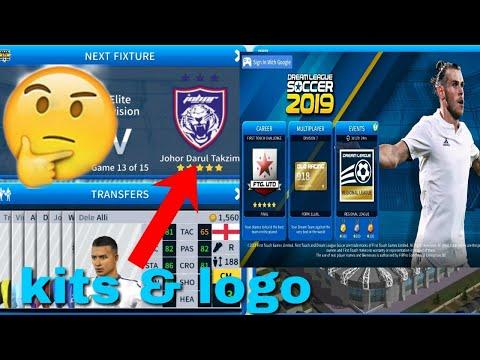 How To Create Johor Darul Takzim Team Kits & Logo 2019 | Dream League Soccer 2019