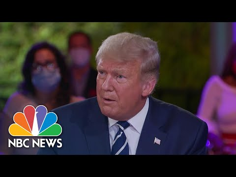 Trump Questioned If His Opinion On Mask Wearing Changed After Contracting Covid | NBC News