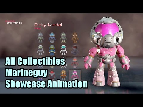 Doom 2016 All Collectibles Marineguy Showcase Animation