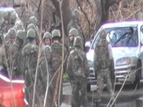 قابون - اقتحام الحي وانتشار الجيش وإقامة الحواجز ج2