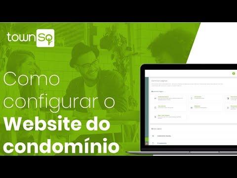 Como configurar o Website do condomínio no TownSq [Admin]