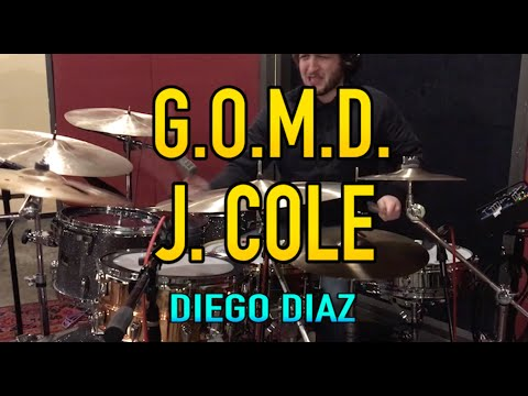 J. Cole - G.O.M.D. ( Drum Cover by Diego Diaz )