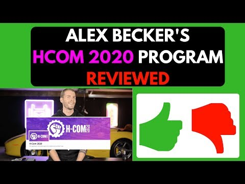 Alex Becker Hcom 2020 Review (2018) Shopify Course