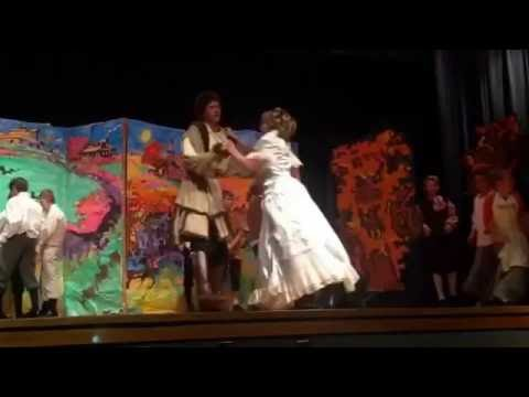 """The Legend of Sleepy Hollow Starring Nathan Bourne as """"Nathan"""" South Sevier Middle School 10/27/2016"""