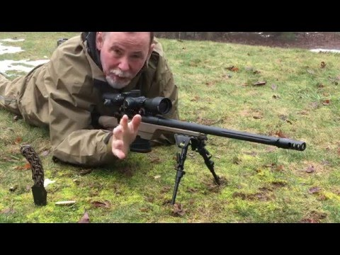 How to use a bipod in the field.