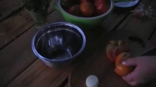 Салат из помидоров | Tomato salad