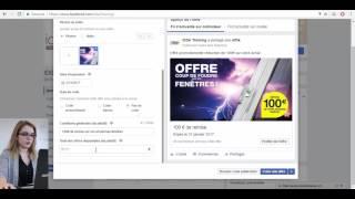 Tutoriel - Comment faire la promotion de votre offre sur Facebook