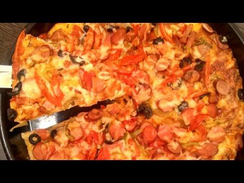Рецепт пиццы.Pizza Resepti.Pizza Recipe