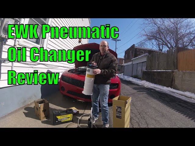 EWK Pneumatic Manual Oil Changer Review