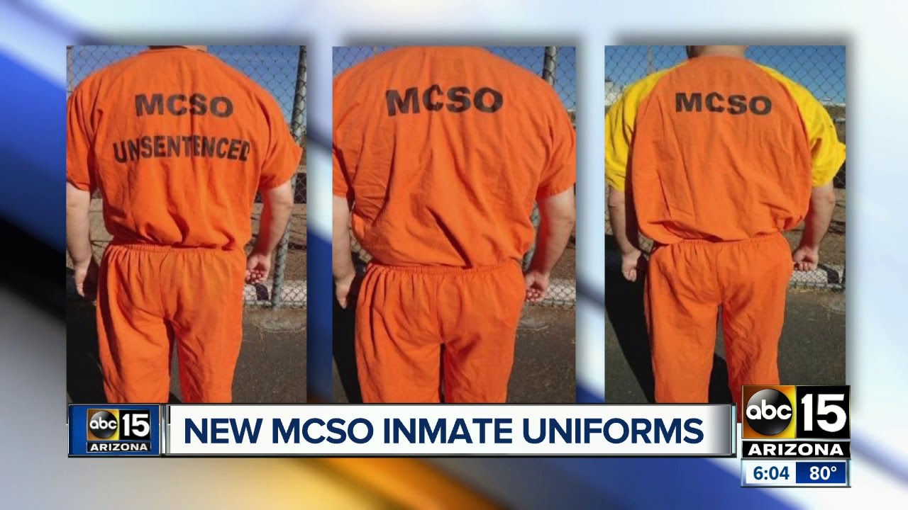 MCSO swapping black and white inmate uniforms for orange c451f9fd7