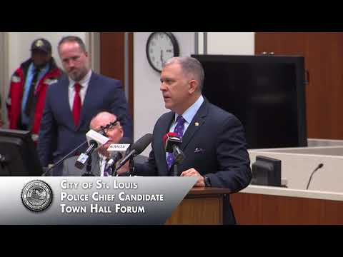 Police Chief Candidate Town Hall - December 14, 2017