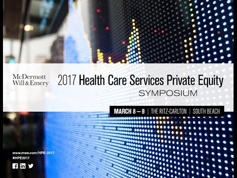 2017 Health Care Services Private Equity Highlights